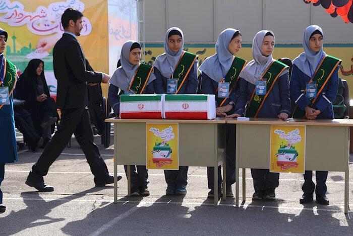 مدارس شمال شرق پایتخت آماده برگزاری انتخابات شهردار مدرسه
