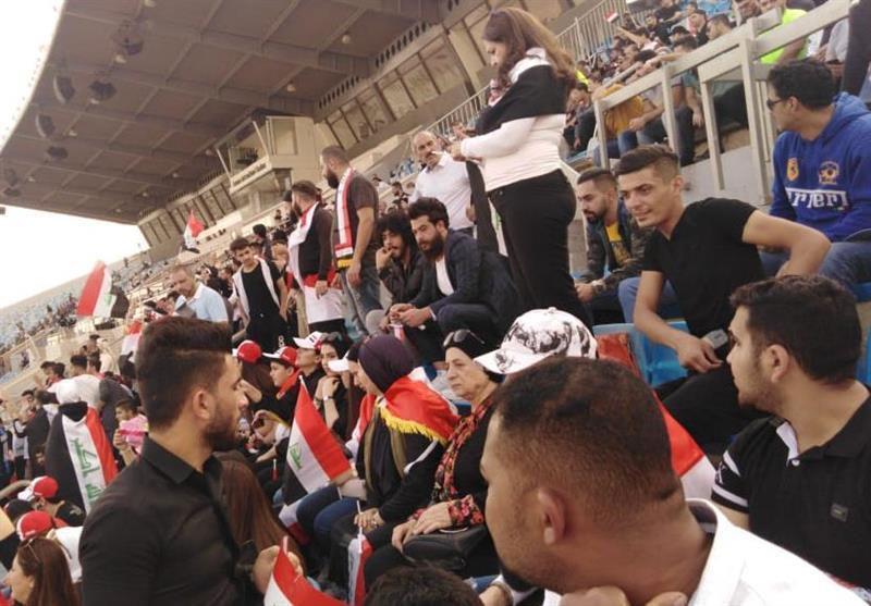 حاشیه ملاقات عراق - ایران، ملاقات پرسپولیسی ها با بشار، حضور یکی از اعضای هیئت رئیسه در استادیوم