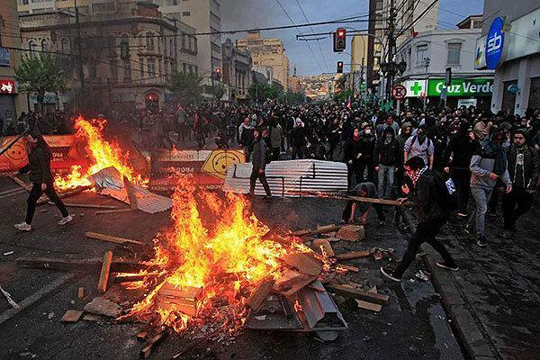 شیلی؛ 5 هفته ناآرامی، 26 کشته