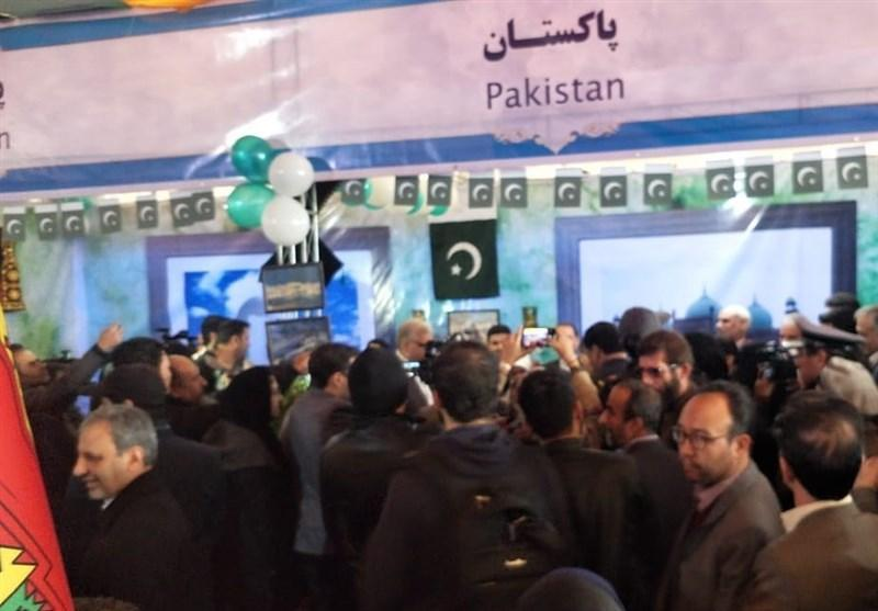 غرفه پاکستان در پنجمین جشنواره فرهنگ ملل