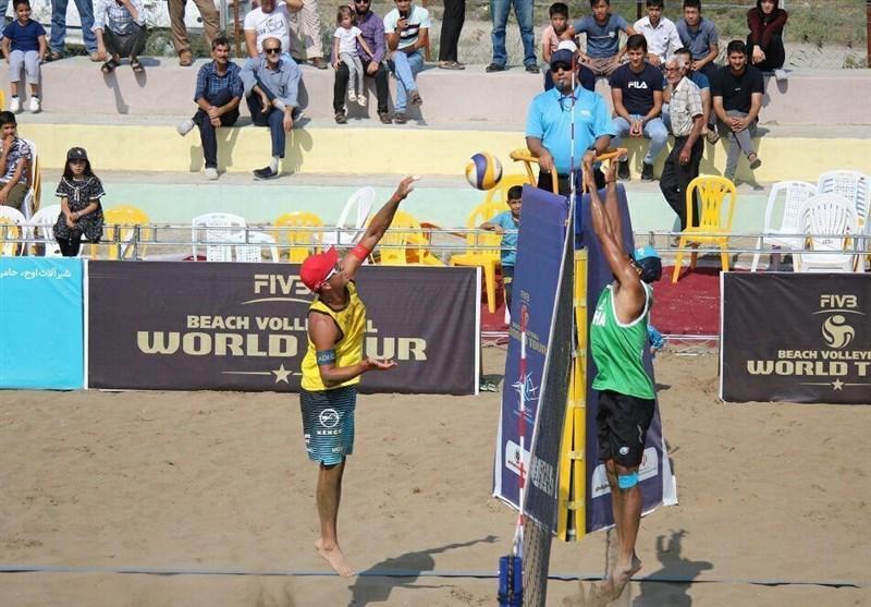 صعود ساحلی بازان ایران به مرحله نهایی رقابت های والیبال انتخابی المپیک