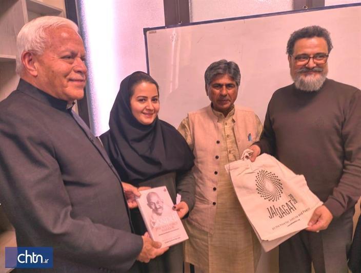 سفر رئیس بنیاد صلح گاندی به استان فارس