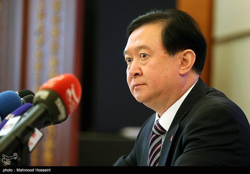 سفیر چین: ملت چین در کنار ملت ایران می ایستند