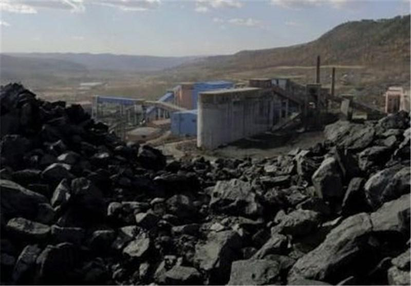 کارخانه زغالشویی البرز مرکزی وارد مدار بهره برداری شد