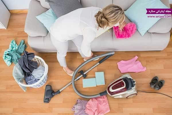 آموزش تمیز کردن مبلمان و جایگاه منزل (خانه تکانی شب عید)