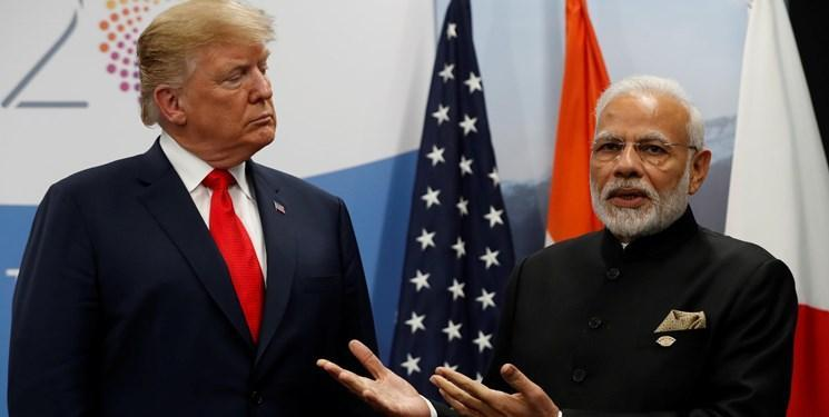 ترامپ: آماده فروش بهترین تجهیزات نظامی به هند هستیم