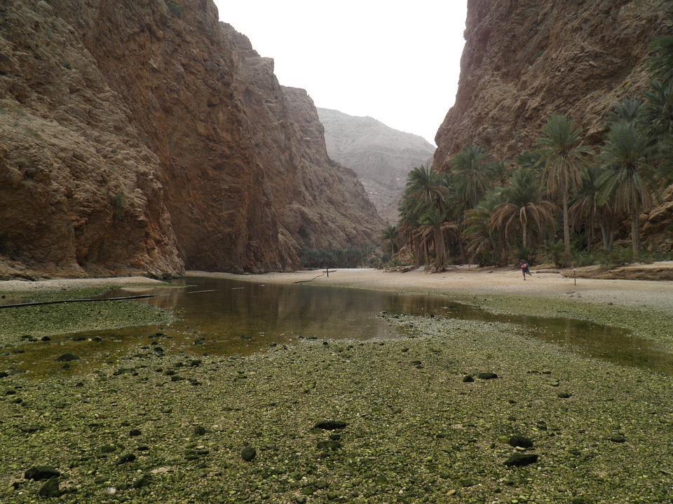 زیباترین وادی ها در عمان