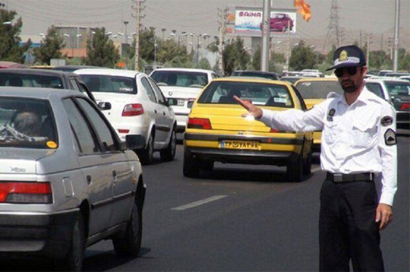 خبرنگاران ترافیک در ورودی مشهد پرحجم است