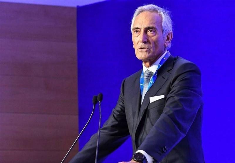 رئیس فدراسیون فوتبال ایتالیا: نمی گذارم سری A نیمه کاره رها گردد، از یوفا و فیفا اجازه می گیرم در تابستان بازی کنیم