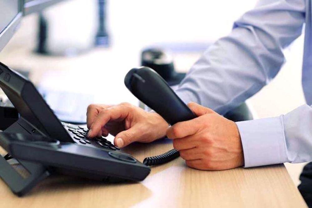 خبرنگاران مدیران مازندران دیدار مردمی را تلفنی برگزار نمایند