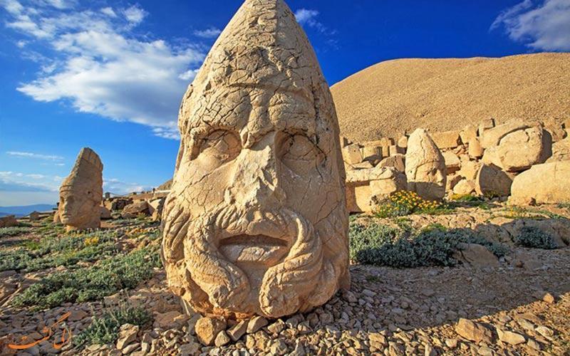 سرگذشت افسانه ای کوه نمرود در ترکیه!