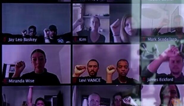 خبرنگاران ابتکار تایلند در حمایت آنلاین از جامعه سیاهپوستان آمریکا