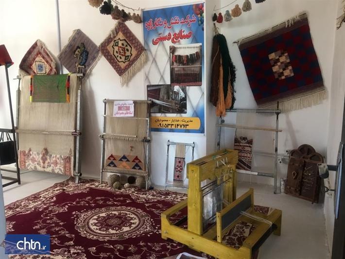 نخستین خانه صنایع دستی در زاوه افتتاح شد