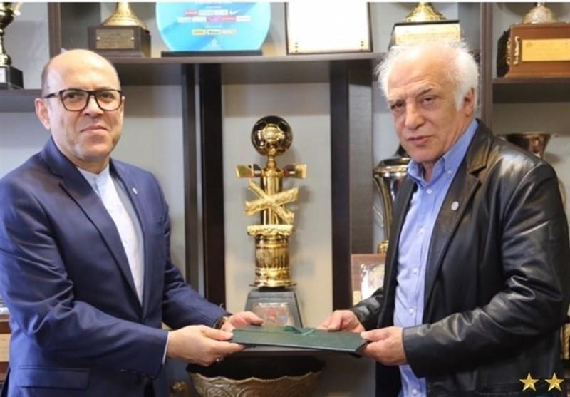 بازدید سعادتمند و عبداللهی از کلینیک باشگاه استقلال