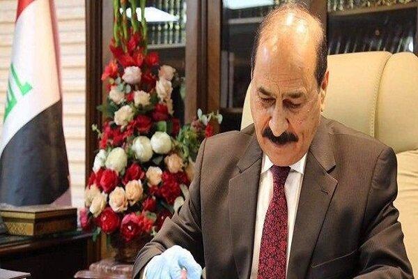 وزیر عراقی کرونا گرفت