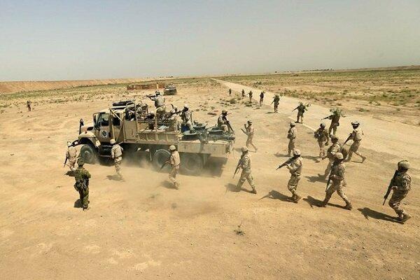 عملیات گسترده زمینی و هوایی ارتش عراق علیه مواضع داعش