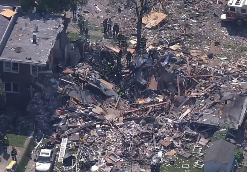 یک کشته و 2 زخمی بر اثر انفجار در بالتیمور آمریکا
