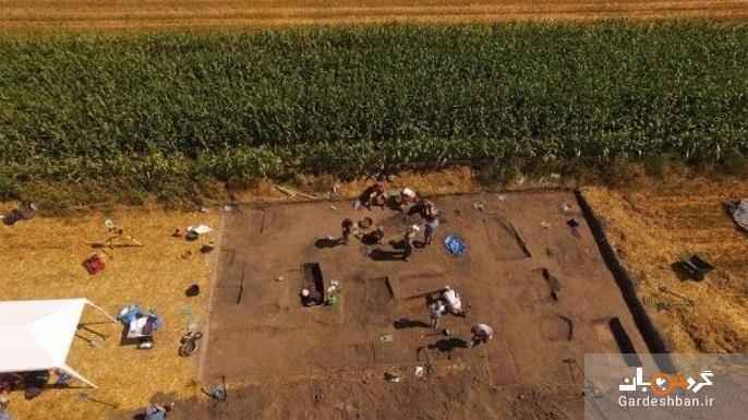 کشف ابزار باستانی عصر آهن در گورستان چندصدساله
