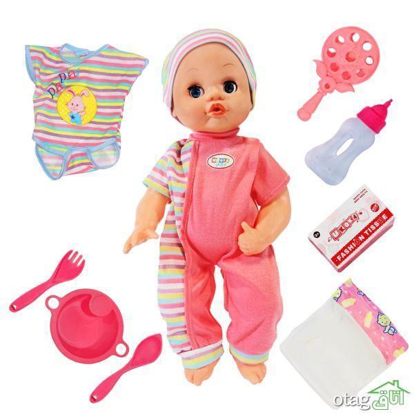لیست قیمت 41 مدل عروسک نوزاد فانتزی دخترانه