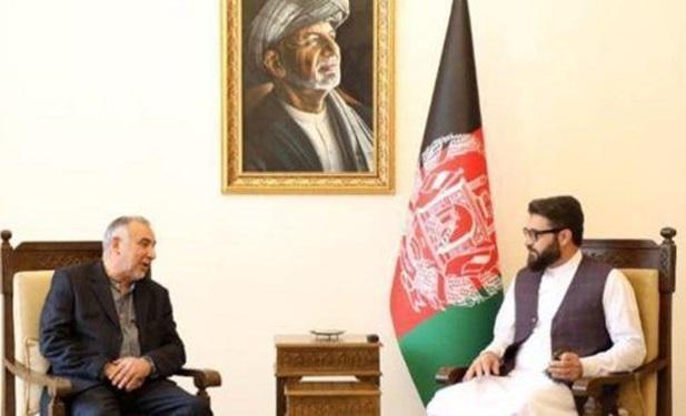 قدردانی مقامات افغانستان از مواضع حمایتی جمهوری اسلامی ایران از فرایند صلح در این کشور