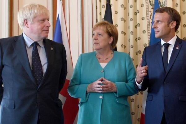 سران انگلیس، فرانسه و آلمان با بایدن تبادل نظر کردند