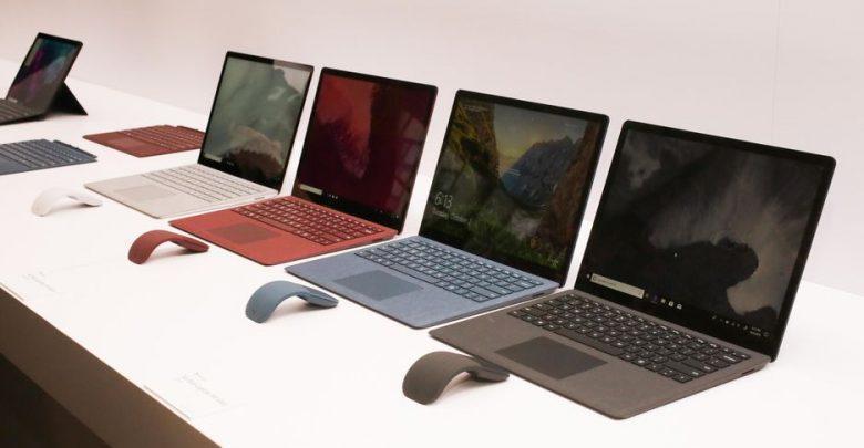 قیمت انواع لپ تاپ، امروز 10 آبان 99