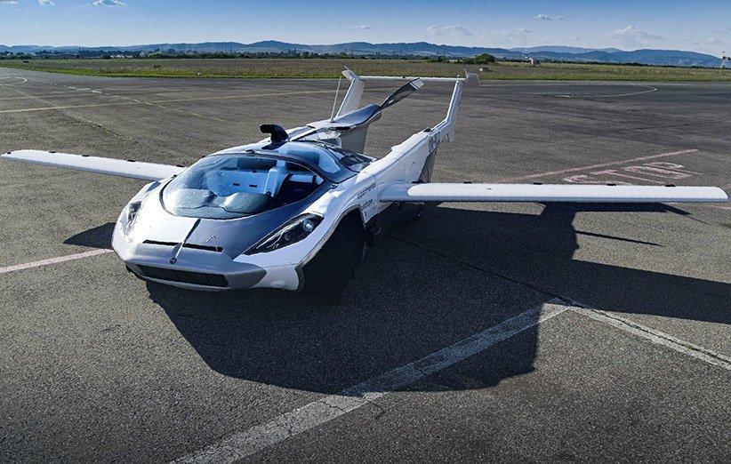 خودروی پرنده ایرکار سال آینده در بازار عرضه می شود