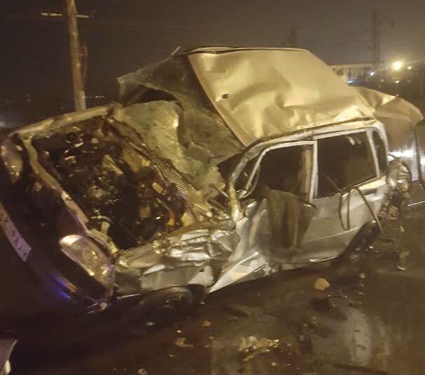 خبرنگاران تصادف جاده ای در کمربندی باغملک یک کشته برجای گذاشت