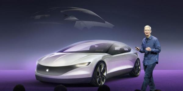 رونمایی از خودروی اپل در سال 2024