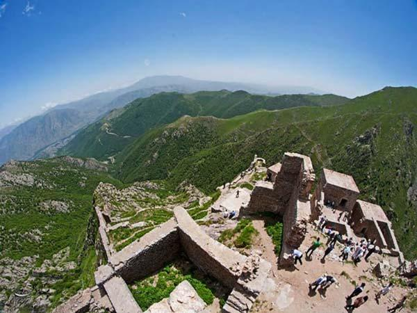 قلعه بابک؛ اقتدار منطقه کلیبر