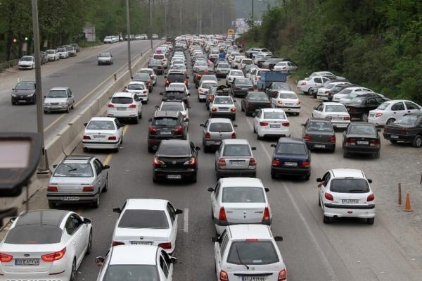 رشد 16 درصدی تردد وسایل نقلیه در محورهای برون شهری خبرنگاران