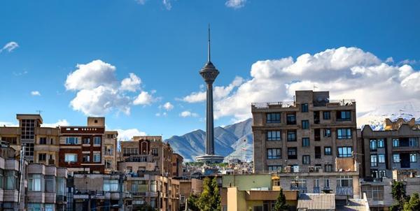 هوای تهران پاک است ، تداوم کاهش دمای هوای پایتخت خبرنگاران