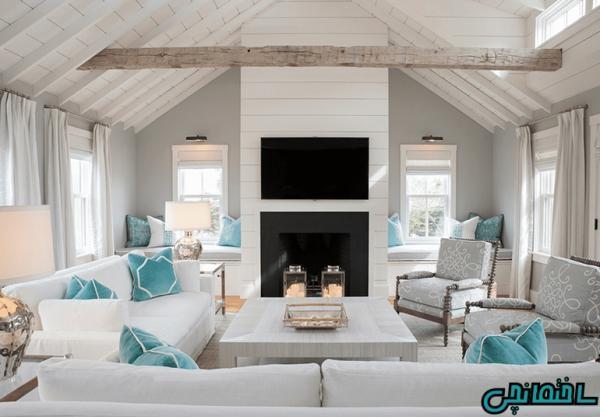 راهکارهای طراحی خانه عظیم