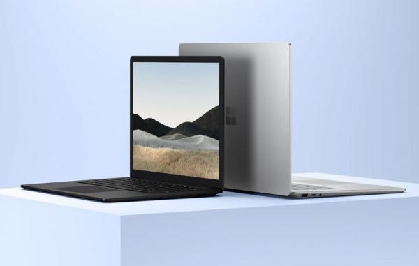 مایکروسافت سرفیس لپ تاپ 4 را با پردازنده اینتل و AMD معرفی کرد