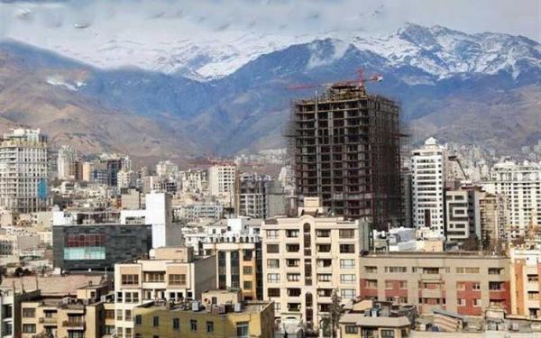 آپارتمان های کمتر از قیمت میانگین پایتخت