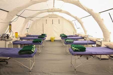 5 بیمارستان صحرایی دیگر ساخته می گردد