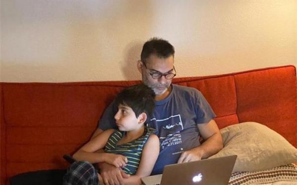 پیمان معادی عکس پسرش را منتشر کرد