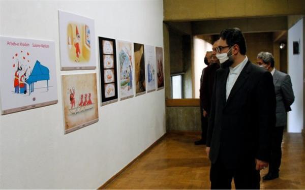 معاون امور هنری از 3 نمایشگاه دیدن کرد