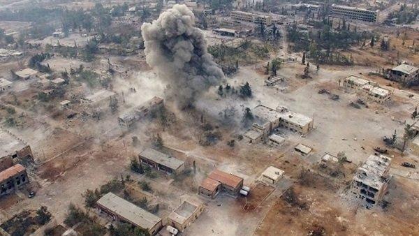 حمله شیمیایی در انتظار ادلب