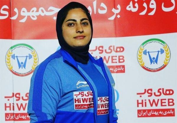 نماینده وزنه برداری زنان ایران به المپیک نمی رود