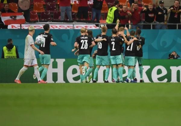 یورو 2020، رجحان اتریشی ها مقابل مقدونیه از نگاه دوربین
