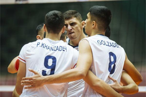 والیبال قهرمانی نوجوانان دنیا؛ ایران 3، 1 آرژانتین ، پسران ایران در نیمه نهایی